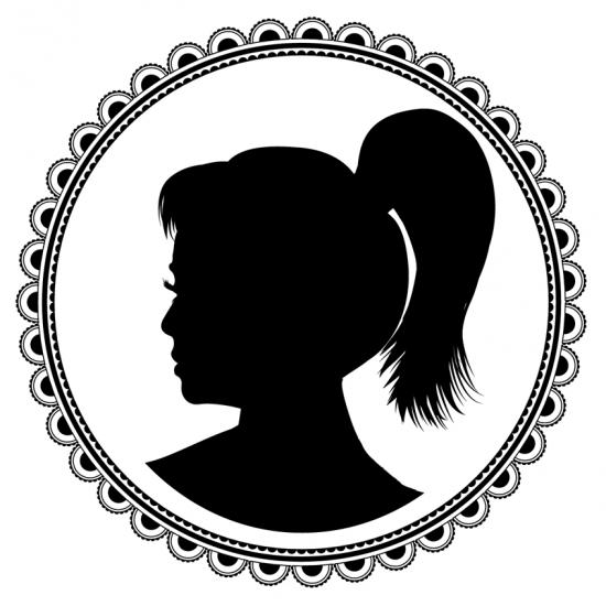 Elegant Profile Silhouette